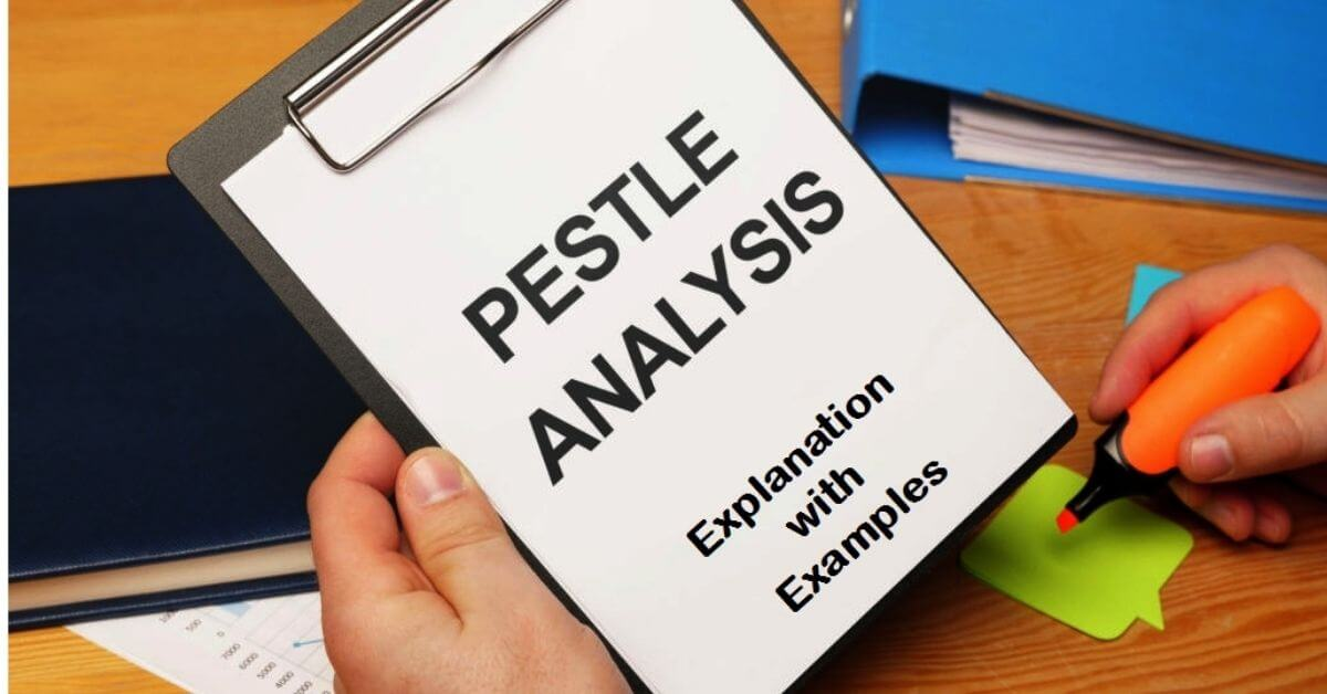 read macro environmental factors of pestle analysis.