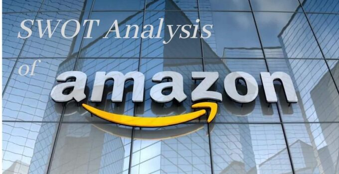 swot analysis of world's top tech and ecommerce and retail company, Amazon