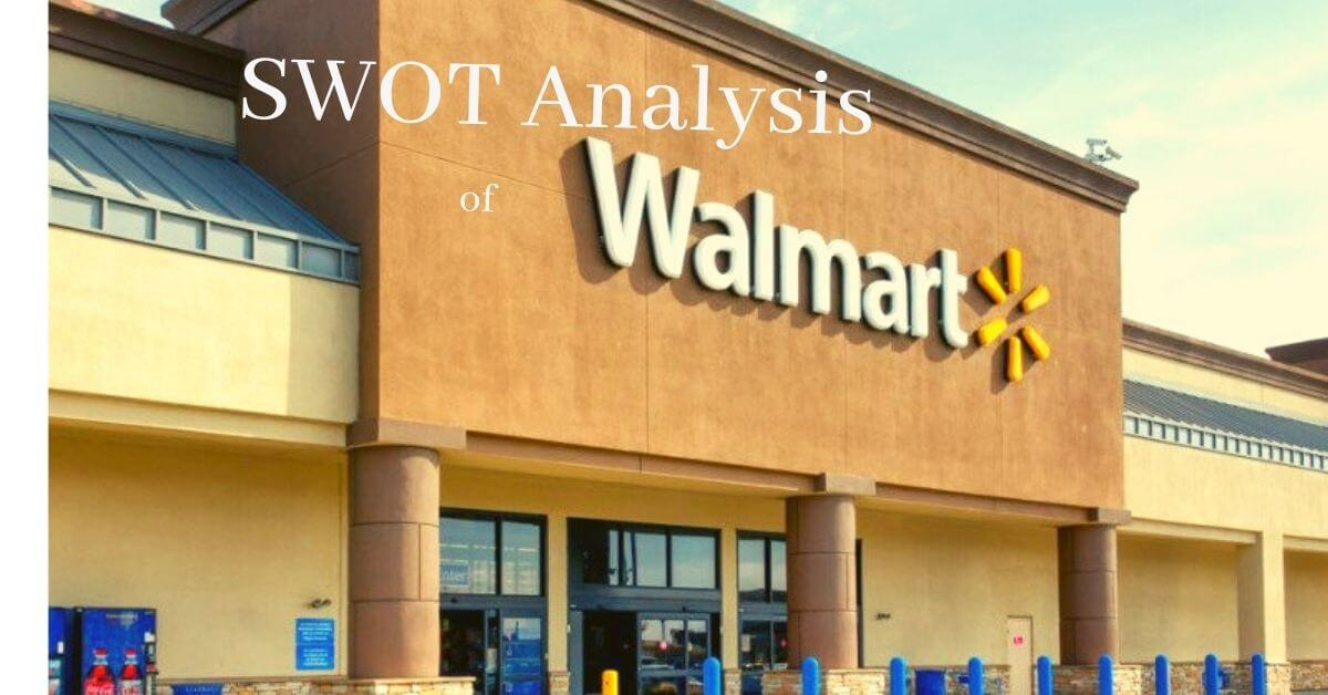 read the swot analysis of multinational company, Walmart, in detail.