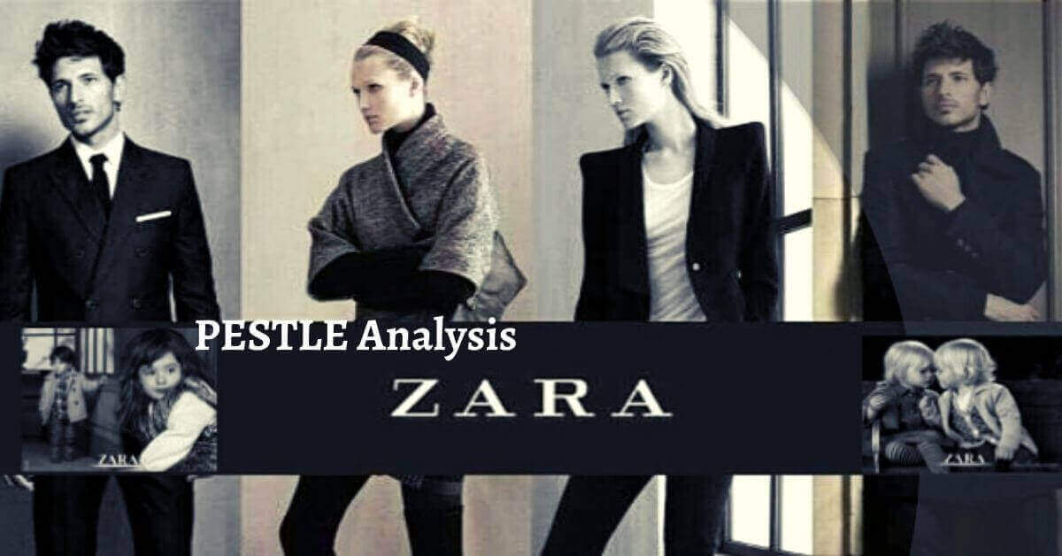 Pestle analysis of Zara analyzes the political, economical, social, technological, legal, and environmental issues of the fashion brand.