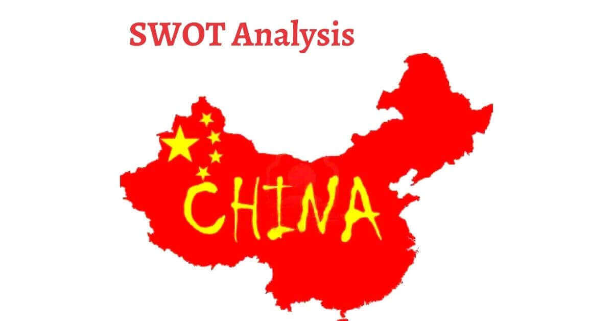 Swot analysis of China analyzes the strengths, weaknesses, opportunities, threats of the world's fastest growing economies of 21st century.