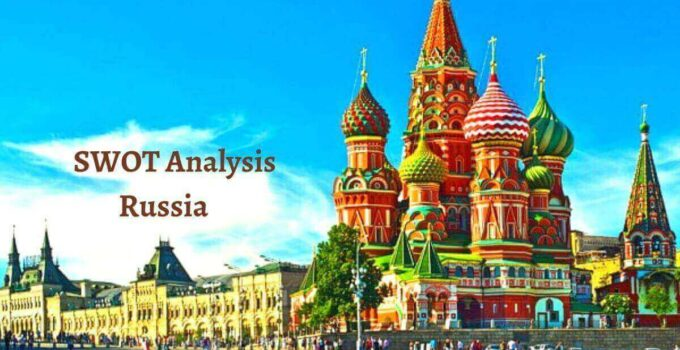 Swot analysis of Russia analyzes the strengths, weaknesses, opportunities, threats of the world's largest and most powerful country.