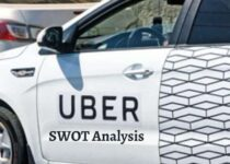Swot analysis of Uber analyzes the strengths, weaknesses, opportunities, threats of the ride-sharing transportation service company.