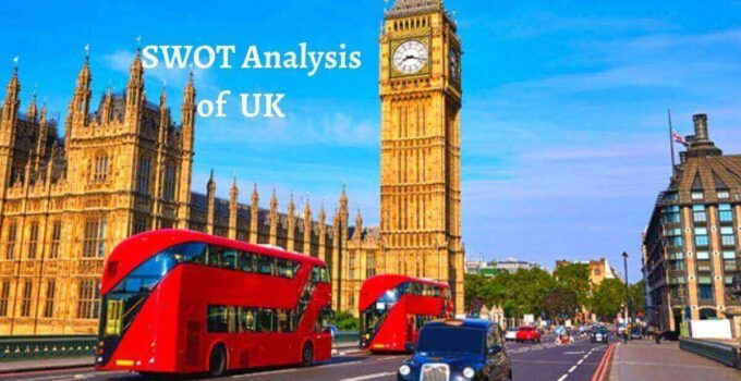 Swot analysis of UK analyzes the strengths, weaknesses, opportunities, threats of one of the world's richest country.