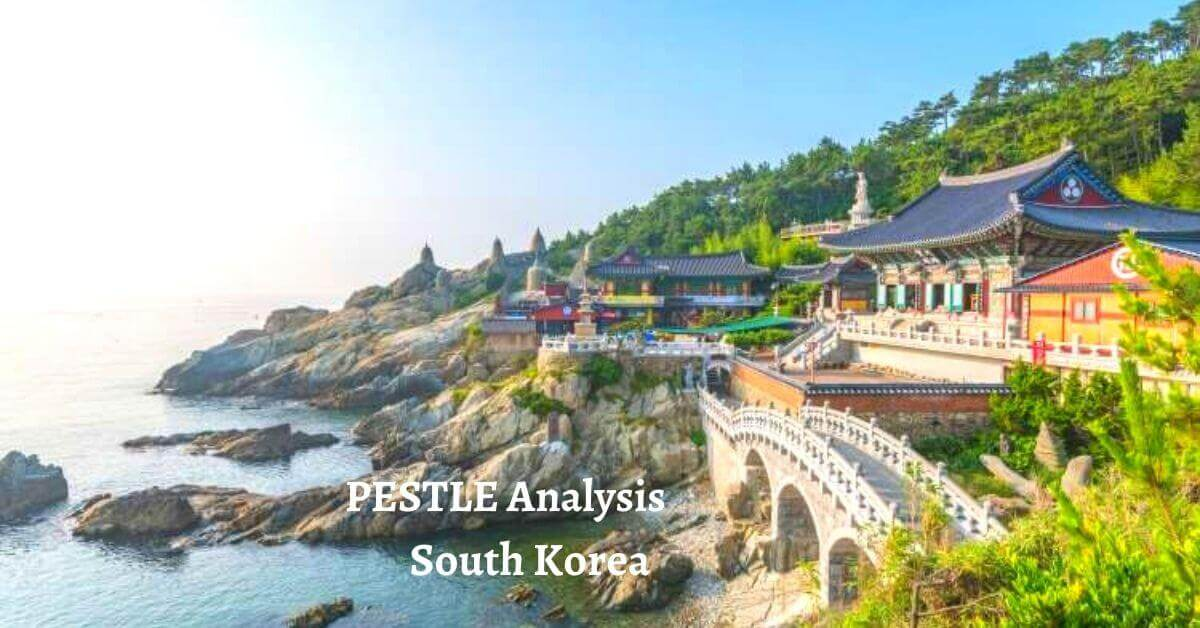 Pestle analysis of South Korea analyzes the political, economical, social, technological, legal, environmental issues of world's developed country.