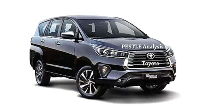 Pestle analysis of Toyota analyzes the political, economical, social, technological, legal, environmental issues of the world's leading automotive company.
