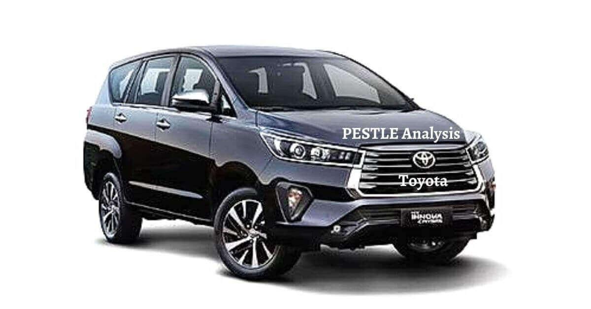 PESTLE Analysis of Toyota