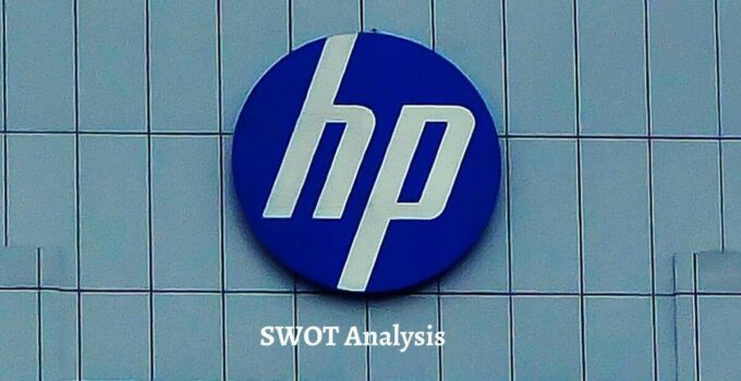 Swot analysis of HP analyzes the strengths, weaknesses, opportunities, threat of the world's top computer manufacturing company.