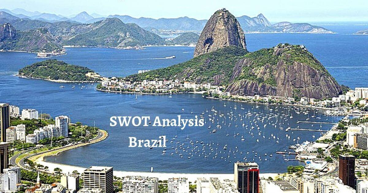Swot analysis of Brazil analyzes strengths, weaknesses, opportunities, threats of world's leading middle income countries.