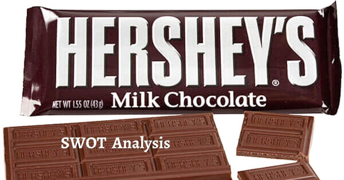 Swot analysis of Hershey's analyzes strengths, weaknesses, opportunities, threats of the world's leading chocolate manufacturing brand.