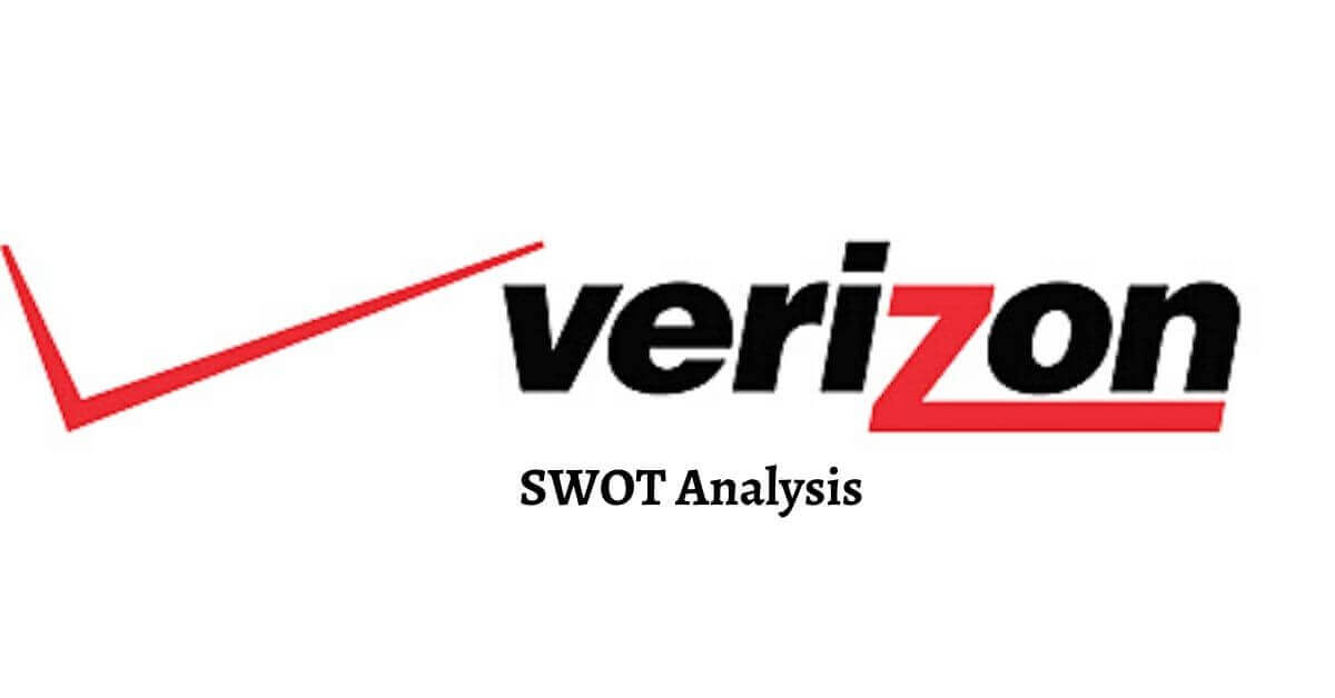 Swot analysis of Verizon analyzes strengths, weaknesses, opportunities, threats of world's leading telecom company.