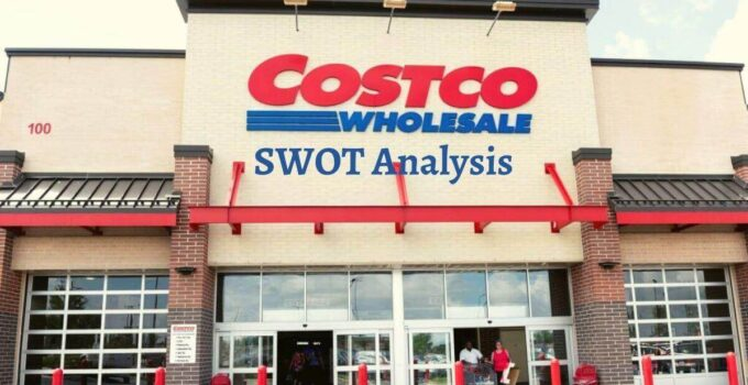 Swot analysis of Costco analyzes strengths, weaknesses, opportunities, threats of world's leading retail whole manufacturing company.