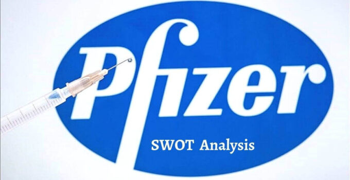 Swot analysis of Pfizer analyzes strengths, weaknesses, opportunities, threats of world's largest pharmaceutical company.