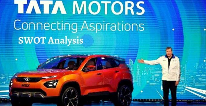 Swot analysis of Tata Motors analyzes strengths, weaknesses, opportunities, threats of world's leading automotive manufacturing company