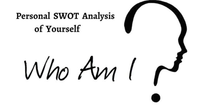 Personal swot analysis focuses on self analysis of strengths, weaknesses, opportunities, threats impacting your growth and development