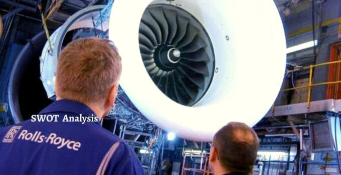 Swot analysis of Rolls Royce analyzes strengths, weaknesses, opportunities, threats of world's largest airline engine manufacturing company