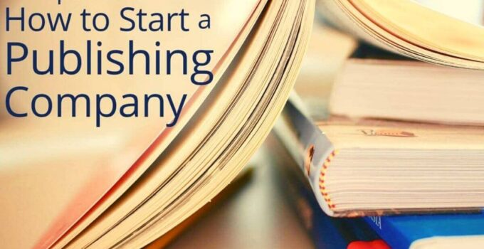 How to start a publishing company discusses the completing process of becoming a publisher from business plan, marketing, website, taxes, legal entity.