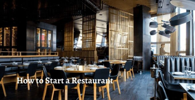 How to start a restaurant business provides a complete guidelines of establishing a hotel from business plan to menu selection, marketing, opening.