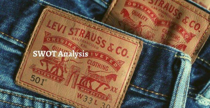 SWOT Analysis of Levi's