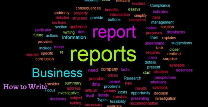 How to Write a Business Report with Example