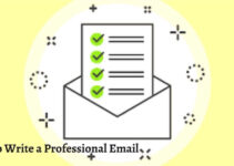 How to Write a Professional Email/Example