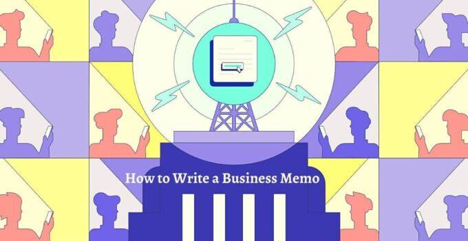 How to Write a Business Memo