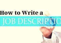 How to Write a Job Description