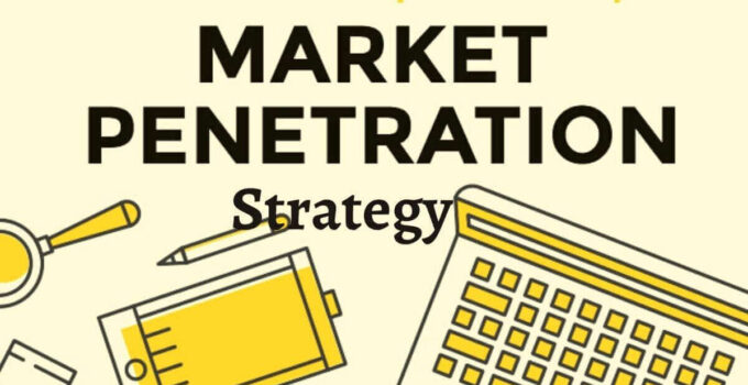 What is a Market Penetration Strategy?