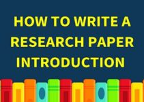 How to Write Introduction in Research Paper